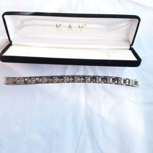Kay Jewlers Sean John diamond Cut mens bracelet